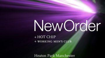 New Order - Heaton Park Manchester